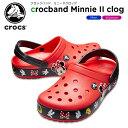 【20%OFF】クロックス(crocs) クロックバンド ミニー 2.0 クロッグ(crocband Minnie 2.0 clog) /メンズ/レディース/男性用/女性用/サンダル/シューズ/ r C/B 【ポイント10倍対象外】