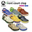 クロックス(crocs) フロント コート クロッグ(front court clog)/レディース/メンズ/女性用/男性用/サンダル/シューズ/【37】[H]