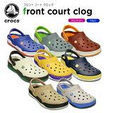 ����å���(crocs) �ե��� ������ ����å���front court clog��/��ǥ�����/���/������/������/�������/���塼��/��37��[H]�ڥݥ����10���оݳ���