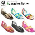 ショッピングCROCS クロックス(crocs) ワラチェ フラット ウィメン(huarache flat w) /レディース/女性用/サンダル/シューズ/フラットシューズ/【30】【あす楽対応】