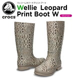 ����å���(crocs) �����꡼ �쥪�ѡ��� �ץ��� �֡��� ��������wellie leopard print boot w��/��ǥ�����/�֡���/�쥤��֡���/Ĺ��/��35�ۡڤ������б���