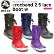 クロックス(crocs) クロックバンド 2.5 レース ブーツ ウィメン(crocband 2.5 lace boot w)/レディース/ブーツ/ウィンターブーツ/【30】