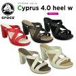 クロックス(crocs) サイプラス 4.0 ヒール ウィメン(cyprus 4.0 heel w) /レディース/女性用/ヒール/シューズ/【20】