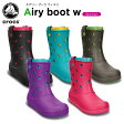 クロックス(crocs) クロックバンド エアリー ブーツ ウィメン(crocband airy boot w)/レディース/ブーツ/【40】【ポイント10倍対象外】