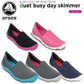 クロックス(crocs) デュエット ビジー デイ スキマー ウィメン(duet busy day skimmer w) /レディース/女性用/シューズ/スニーカー【30】[r]