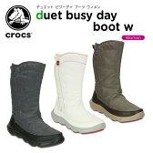 クロックス(crocs) デュエット ビジーデイ ブーツ ウィメン(duet busy day boot w)/レディース/ブーツ【40】[r]