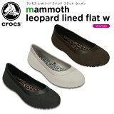����å���(crocs) �ޥ�⥹ �쥪�ѡ��� �饤��� �ե�å� �������(mammoth leopard lined flat w) /��ǥ�����/������/���塼��/�ե�åȥ��塼��/��30��
