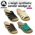 【36%OFF】クロックス(crocs) アレイ シンセティック サンダル ウェッジ ウィメン(a-leigh synthetic sandal wedge w) /レディース/女性用/ヒール/シューズ/【30】【ポイント10倍対象外】