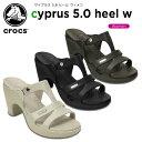 クロックス(crocs) サイプラス 5.0 ヒール ウィメン(cyprus 5.0 heel w) /レディース/女性用/サンダル/ヒール/シューズ/【20】...