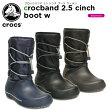 クロックス(crocs) クロックバンド 2.5 シンチ ブーツ ウィメン(crocband 2.5 cinch boot w)/レディース/ブーツ【19】【ポイント5倍対象外】