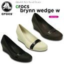 クロックス(crocs) クロックス ブリン ウェッジ ウィメン(crocs brynn wedge w) /レディース/女性用/ヒール/シューズ/[H]【20】[r]【ポイント10倍対象外】