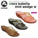 クロックス(crocs) クロックス イザベラ ミニ ウェッジ ウィメン(crocs isabella mini wedge w) /レディース/女性用/シューズ/ウェッジソール/【30】[r]【ポイント10倍対象外】