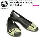 ����å���(crocs) ����å��� ������� �쥪�ѡ��� �ե����� �ե�å� �������(crocs sienna leopard fade flat w) /��ǥ�����/������/���塼��/�ե�åȥ��塼����20�ۡڥݥ����10���оݳ���