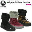 クロックス(crocs) ロッジポイント レース ブーツ ウィメン(lodgepoint lace boot w)/レディース/ブーツ【あす楽対応】