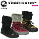 クロックス(crocs) ロッジポイント レース ブーツ ウィメン(lodgepoint lace boot w)/レディース/ブーツ[r]【20】