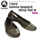 クロックス(crocs) クロックス シエンナ レオパード シャイニー フラット ウィメン(crocs sienna leopard shiny flat w) /レディース/女性用/シューズ/フラッ