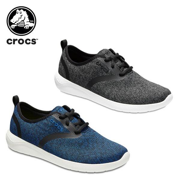 クロックス(crocs) ライトライド レース ウィメン(literide lace w) /レディース/女性用/シューズ/スニーカー[r][C/A]