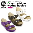 クロックス(crocs) クロックス コブラー ウェッジ バックル (crocs cobbler wedge buckle) /レディース/女性用/サンダル/ウェッジサンダル/シューズ/【30】【あす楽対応】