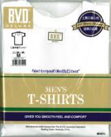 BVDシルケット加工デラックスU首半袖Tシャツ(S〜L) /12時まで あす楽対応(土日祝祭日を除く)