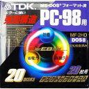 TDK 3.5型強面構造フロッピーディスク FD 20枚MF-2HD-PCX20PN