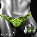 Tバック 下着 ボタニカル柄 迷彩柄 アンダーウェア メンズ(グリーン緑) uw035 0601楽天カード分割 02P03Dec16