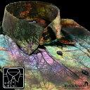 ショッピング国産 サテンシャツ ドレスシャツ ムラ柄 ボタニカル柄 ドゥエボットーニ 日本製 レギュラーカラー 光沢 メンズ mens(グリーン緑ブラウン茶) 171315