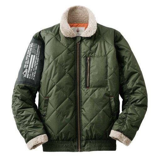 (LOGOS)ロゴス 防寒ジャケット グレイグ (57カーキ) M