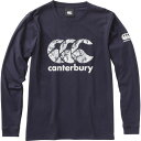 (CANTERBURY)カンタベリー ロングスリーブ Tシャツ(メンズ) ネイビー XL