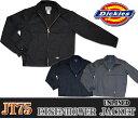 【Dickies】JT75 アイゼンハワージャケットUnlined Eisenhower Jacket裏地なし ワークウエア ディッキーズ