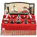 雛人形 五人三段飾り おぼこ雛 hn43-49 9hs1675 幅69cm 小出松寿 市川伯英 頭 (193to1676) 雛祭り
