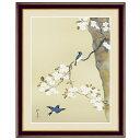 日本の名画 酒井抱一 桜に小禽図(さくらにしょうきんず) F6 [g4-bn147-F6] インテリア