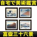 「富嶽三十六景」の絵画データを収録したデジタルフォトフレーム/アートポスターとしても使える!音楽・動画再生も可能/ポスターフレーム/ポスター額縁
