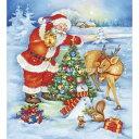 クロスステッチ刺繍図案 Heaven And Earth Designs(HAED) - Santas Last Chore