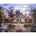 クロスステッチ刺繍図案 Heaven And Earth Designs(HAED) - Dennis Lewan - Secret Cottage