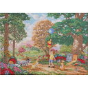 クロスステッチ刺繍キット Disney(ディズニー) - Winnie The Pooh II(くまのプーさん)