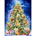 クロスステッチ刺繍図案 Heaven And Earth Designs(HAED) - Dona Gelsinger - Mini Teddy Bear Tree