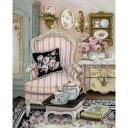 クロスステッチキット クロスステッチ刺繍キット 海外 Heaven And Earth Designs(HAED) - Mini Chair Decor
