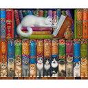 クロスステッチ キット 上級者 全面刺し 猫 Mini Cat Shelf Three-HAED(Heaven and Earth Designs)
