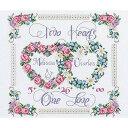 クロスステッチ刺繍キット ウエディング Janlynn - Two Hearts United Wedding Record