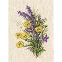 クロスステッチ刺繍キット RTO - Floral - Bouquet With Buttercups