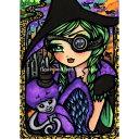 クロスステッチ刺繍図案 Heaven And Earth Designs(HAED) - Hannah Lynn - QS Wicked Witch