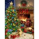 クロスステッチキット25ctルガナCozy Christmas DG - HAED(Heaven And Earth Designs)