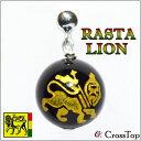 彫刻 ラスタライオン ピアス <片耳> ジャマイカ レゲエ reggae オニキス サージカルステンレス ファッション 金属アレルギー メンズ レディース ボブマーリー 02P03Dec16