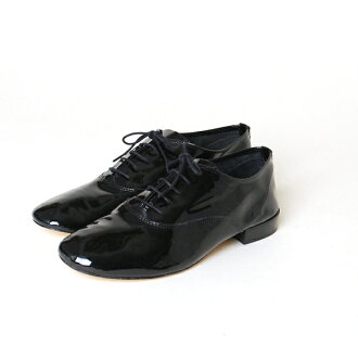 Repetto: Repetto zizi Gigi patent leather lace-up shoes-v388v