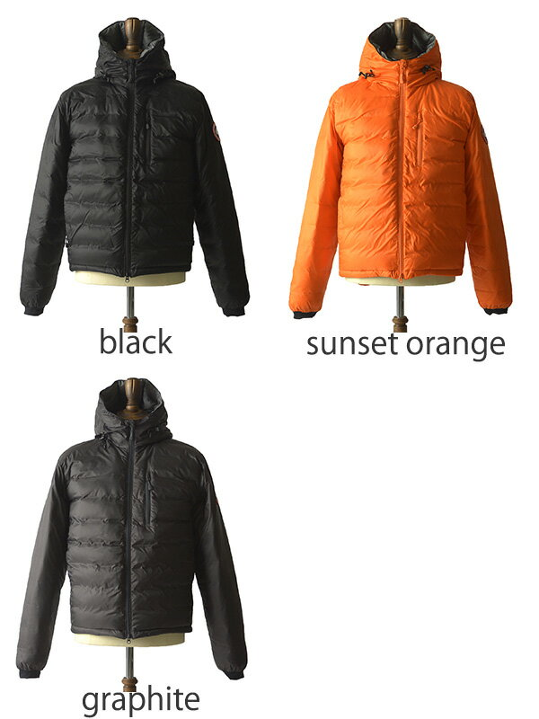 Canada Goose Men's Lodge Down Jacket - Sunset Orange - Size M