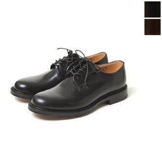 10 / 30 Up to 9:59! Church's Church SHANNON / Shannon leather plain toe shoes-7313 (2 colors)