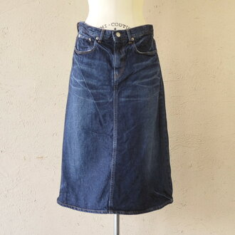 10 / 28 Up to 23:59! D.M.G(DMG) Domingo 12.5 oz denim 5 p A line skirt, 17-275 b 28-6 (S & M)