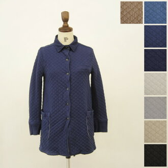 Armen Amen shirts collar coat with back vent and コットンキルティングシャツ color coat (new 2012 model) and nam1206 (8 colors) (M)