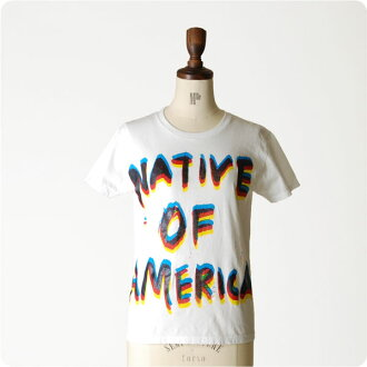 FUNG Fung s / s crew Tee and short sleeve printed t T native (unisex)