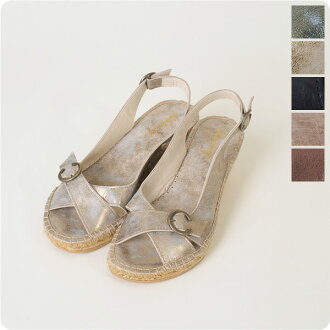 lormy ローミー レザーバックス strap espadrille Sandals-569-05 (5 colors)